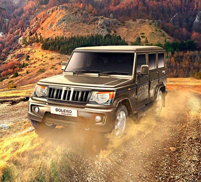Automotive Mahindra Bolero Power Plus Exterior-2