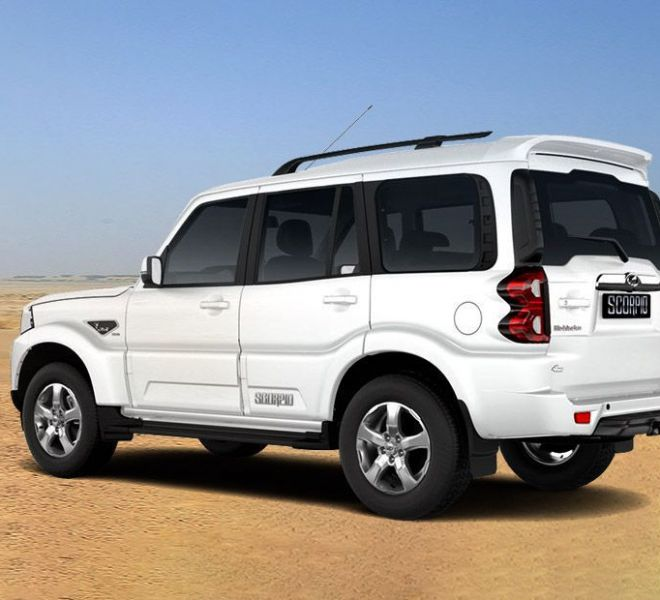 Automotive Mahindra Scorpio Exterior-4