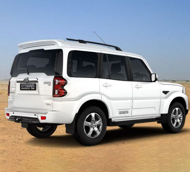 Automotive Mahindra Scorpio Exterior-6