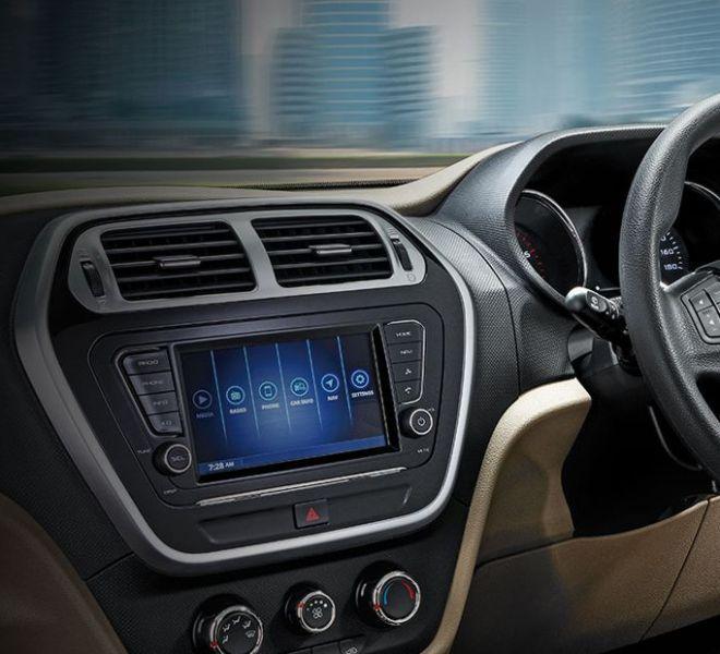 Automotive Mahindra TUV300 Plus Interior-4