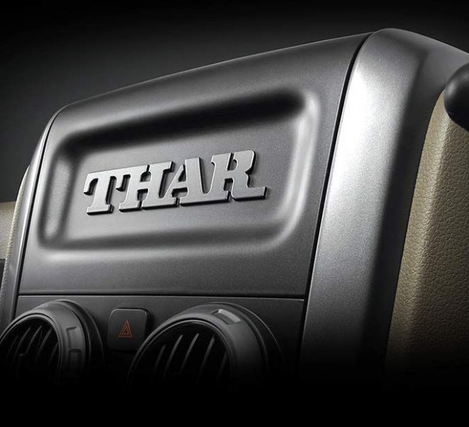 Automotive Mahindra Thar Interior-5